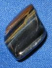 Multi color blue tiger tiger's eye south africa tumbled healing stone