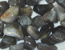 Tumbled Botswana grey gray agate for crystal healing