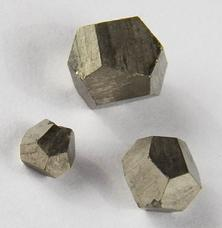Photo of 12 side pyritohedrons Iron Pyrite from Czechoslovakia Czech Republic used to stimulate memory and is a powerful deflector of negative energies