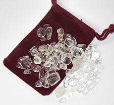 crystal quartz, india, brazil, clear, tumbled, power stone, metaphysical, healing stone