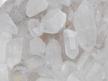 Photo of large to extra large quartz crystals from Brazil, distressed, chips, natural, inclusions, empathic warrior