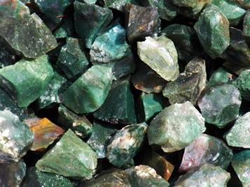 Photo of Beautiful Green Moss Agate from India