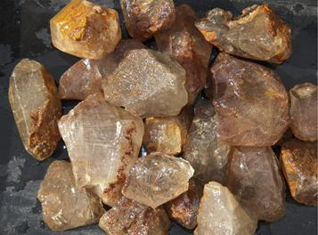 RUTILATED QUARTZ, GOLD RUTILE, TUMBLING ROCK, ROUGH, CRYSTALS, STONES