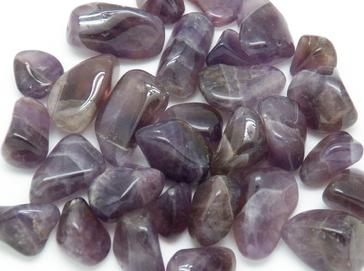PHOTO of tumbled auralite 23 / auralite amethyst from Thunder Bay, Ontario, Canada